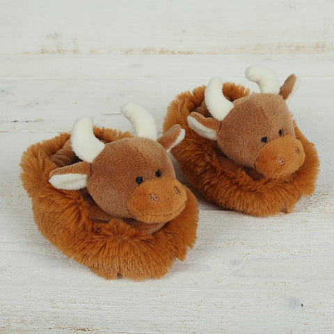 Baby Highland Cow Slippers