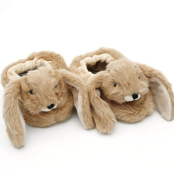 Baby Brown Bunny Slippers