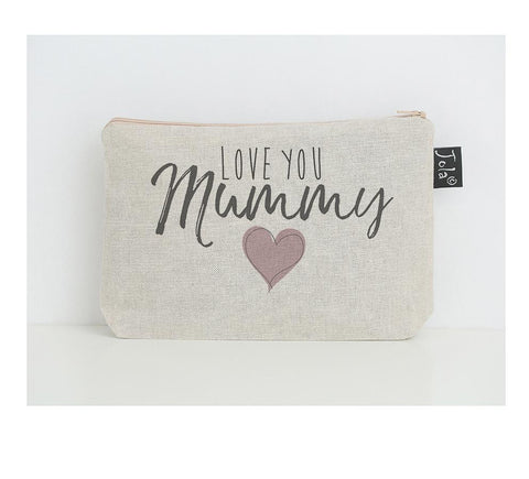 Love you Mummy Make up Bag