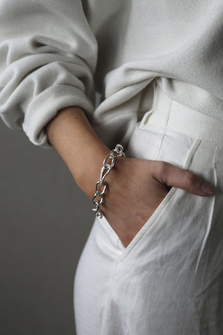 Tutti & Co Journey Bracelet Silver