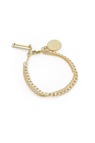 Tutti & Co Surface Bracelet Gold