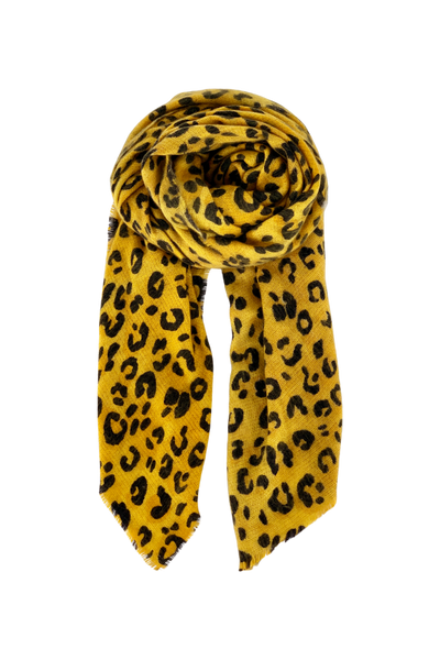 Mustard Cosmo Scarf