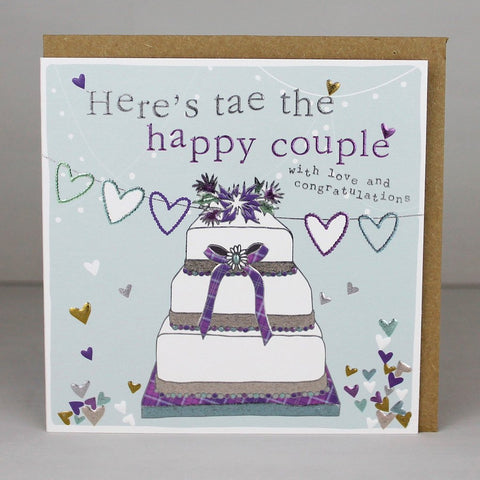 Tae Happy Couple Wedding Card