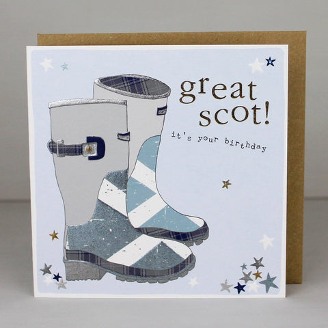 Great Scot birthday Card