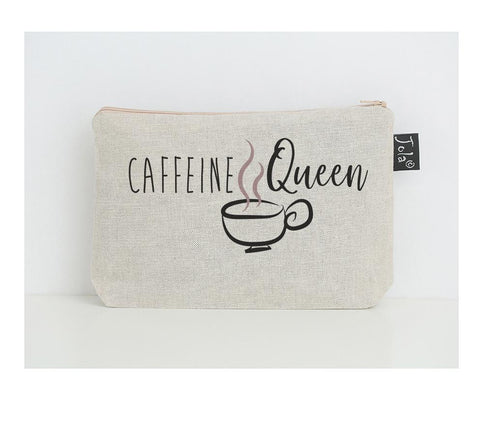 Caffeine Queen Make up Bag