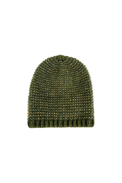 Dina Knitted Green Hat