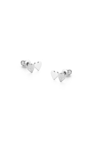 Tutti & Co Connect Earrings Silver