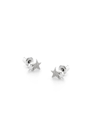 Tutti & Co Starlight Earrings Silver