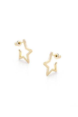 Tutti & Co Solstice Earrings Gold