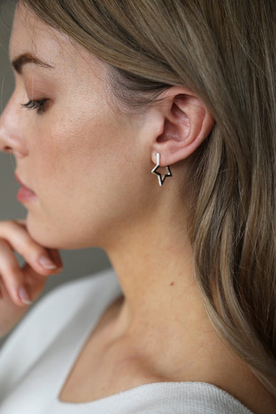Tutti & Co Solstice Earrings Silver