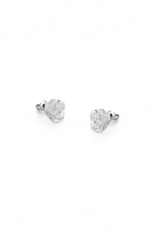 Tutti & Co Shell Earrings Silver