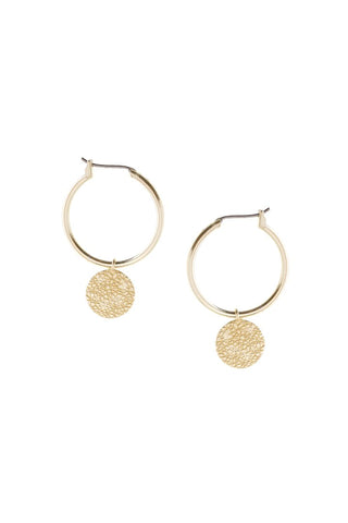 Tutti & Co Island Earrings Gold