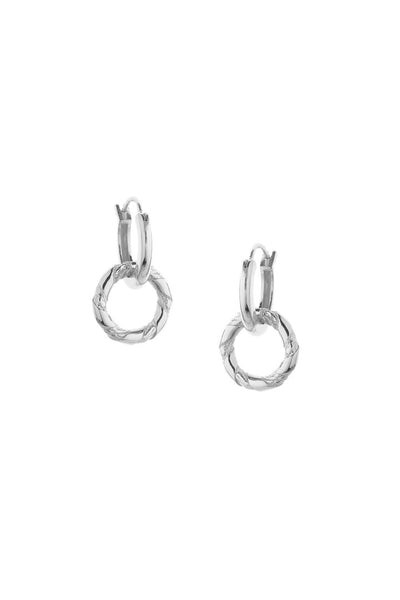 Tutti & Co Ash Earrings Silver