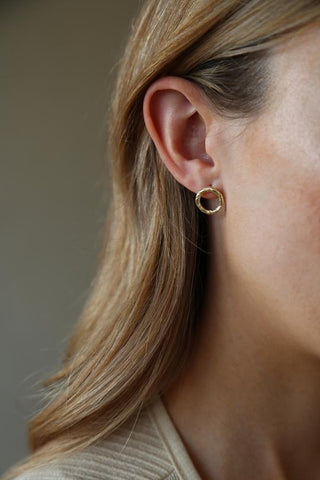 Tutti Rope Earrings Gold