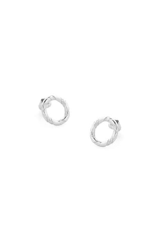Tutti Rope Earrings Silver