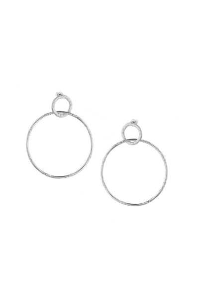 Tutti and CO Silver Sage Earrings