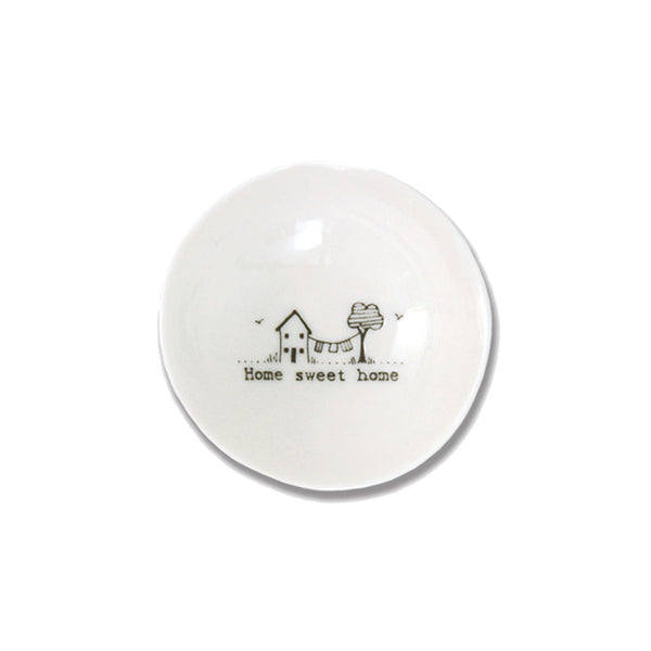Home Sweet Home Porcelain Bowl