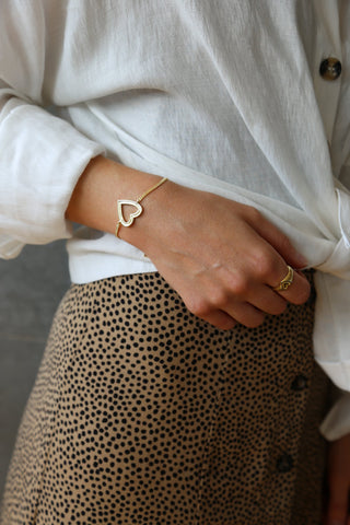 Tutti & Co Sincere Bracelet Gold