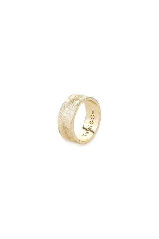 Tutti & Co Tide Ring Gold