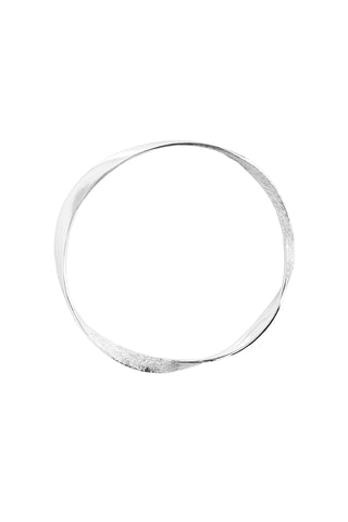 Tutti & Co Organic Bangle Silver