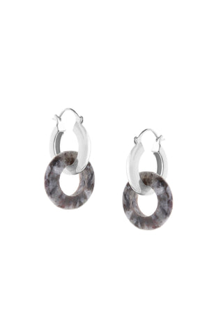 Tutti & Co Tropic Earrings Silver