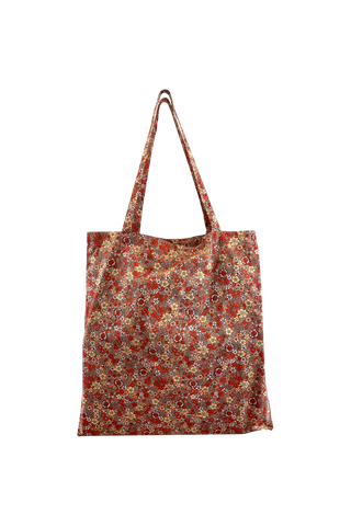 Lulu Blossom Reusable Shopper Peach