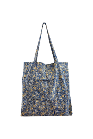 Lulu Blossom Reusable Shopper Blue