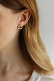 Tutti & Co Mineral Earrings Gold