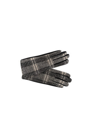 Minny Checkered Gloves