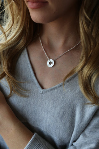 Tutti & Co Mineral Necklace Silver