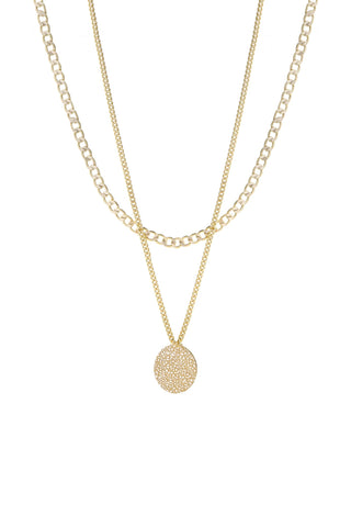 Surface Gold Necklace