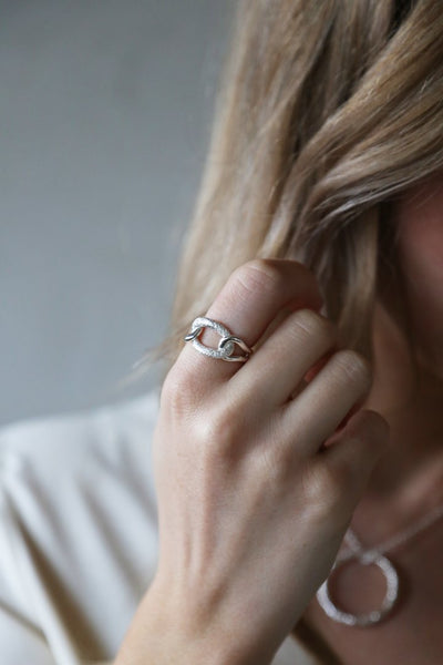 Tutti & Co Fusion Ring Silver
