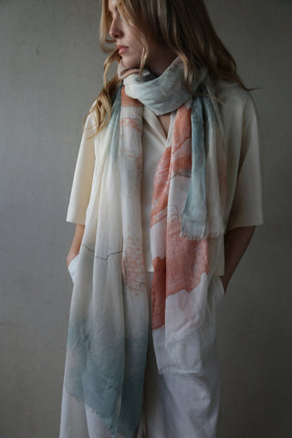 Beautiful Tutti and Co Sunset Scarf