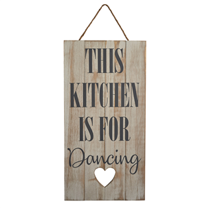 Kitchen is for Dancing Sign