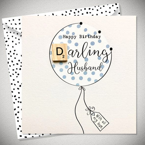 Darling Husband Card