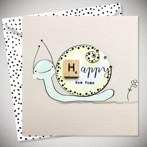 New Home Snail Card