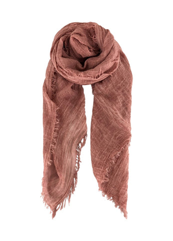 Rose Plain Scarf