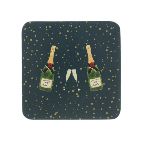 Sophie Allport Bubbles & Fizz set of 4 Coasters