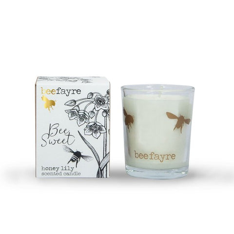 Bee Sweet Honey & lily Votive Candle