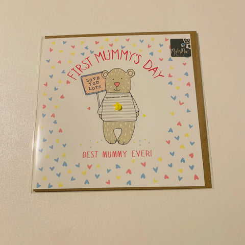 First Mummy's Day Card