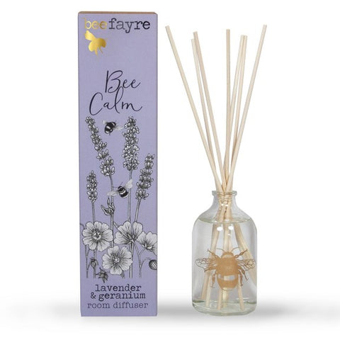 Bee Calm Lavender and Geranium Room Diffuser