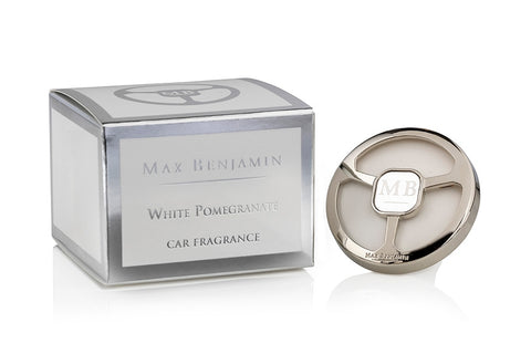 White Pomegranate Car Fragrance