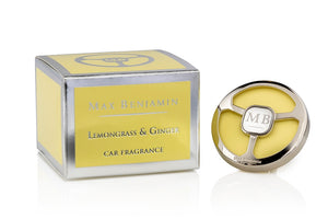 Max Benj Lemongrass & Ginger Car Fragrance