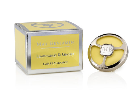 Lemongrass & Ginger Car Fragrance