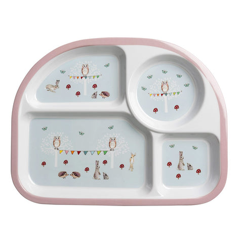 Sophie Allport Woodland Party Divider Plate