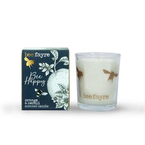 Bee Happy Orange & Neroli Votive Candle