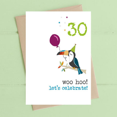 30 Birthday Card