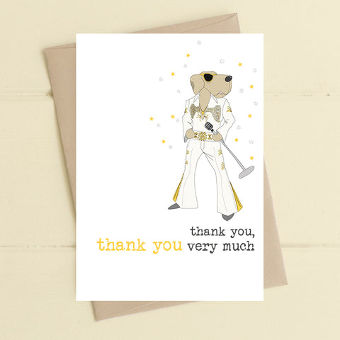 Thank you Elvis Card