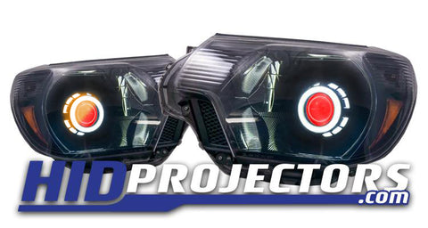 12'-15' Toyota Tacoma Headlights With Monster Shrouds