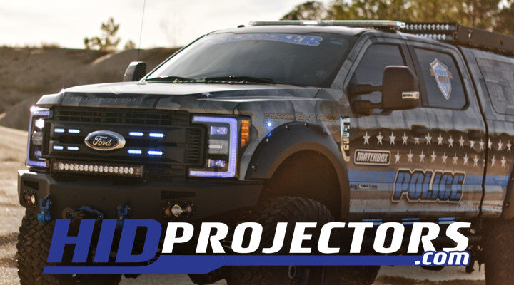 Ford F350 Projector Headlights | Ford Super Duty HID Lights